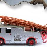 Muursticker brandweer detail