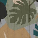 jungle behang  detail