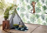 Jungle behang kinderkamer