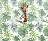kinderbehang jungle giraf