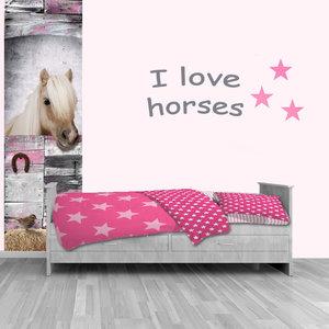 Muursticker paard kinderkamer