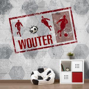 Voetbal behang kinderkamer voetbalkamer