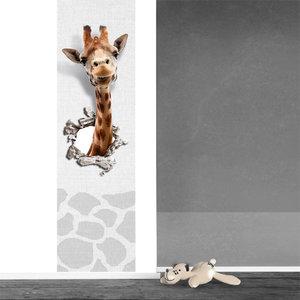 muursticker babykamer kinderkamer giraf